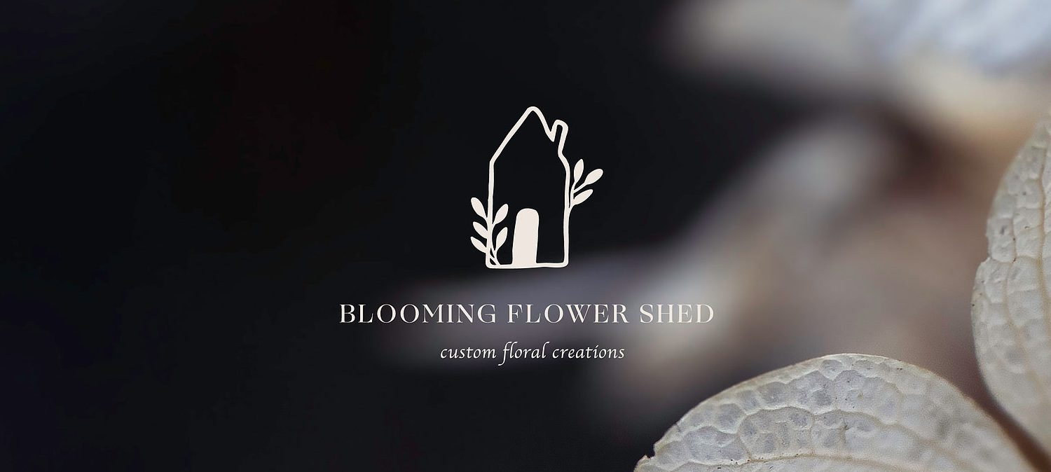 Blooming Flower Shed